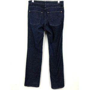 Eileen Fisher Womens Jeans XS Straight Blue Cotton